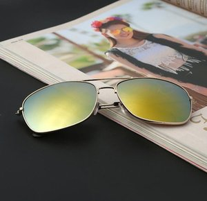Mens Fashion Metal Frame Sunglasses Glasses For Summer Women Men Square Colorful Outdoor For Sunglasses Spring Beach jeneffer coUBS