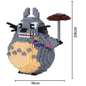 5000pcs 8003 Big Size Totoro Cartoon Modell Baustein-Spielzeug Mittel Bricks Super Mario Fox Kaninchen-Diamant-Block-Kind-Spielzeug yxlzMm ly_bags