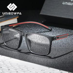 TR90 Myopia Optical Glasses Frame Men Progressive Prescription Eyeglasses Frame Clear Degree Spectacles Frame Korea Eyewear 2020 T200812