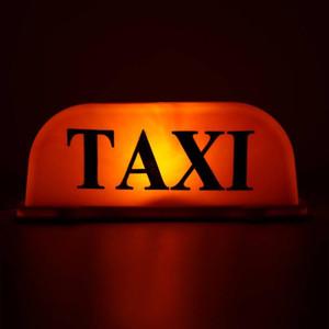 Luce della lampada DC12V universale Taxi Cab Sign LED Roof Top Topper auto impermeabile magnetica segno con base magnetica