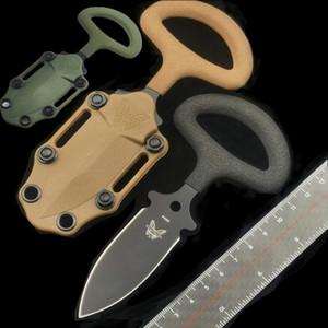 """BENCHMADE BM 175 BKSN """"CBK Sand Backup maniglia"""" Nuovo CBK doppio taglio mano tattico guaina in acciaio stab 440C K 940 535 farfalla coltello"""