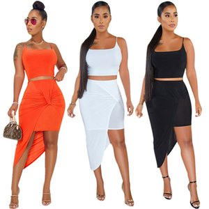 Women 2 piece dress sexy club party holiday dresses elegant summer clothes t-shirt skirt sweatsuit pullover outfits crop top bodysuit 0123