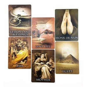 Carte Famliy 44 fogli precedenti Giochi di Carte Oracle pensione completa Tarocchi vita inglese festa Divertimento yxlgwc xhlove