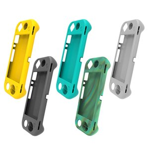 Soft Silicone Cases Protective Cover for Nintend Switch Lite Game Console Controller Gaming Case Gamer Protection Accessories