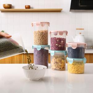 Transparent Sealed Plastic Cans Food Refrigerator Storage Box Kitchen Grain Cereal Can Food Preservation Storage Tank
