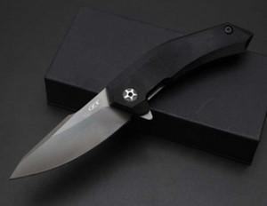 ZT Tolérance zéro 9320 ZT9320 couteau Flipper 7cr17mov poignée G10 poche de pliage de Noël couteaux cadeaux couteau