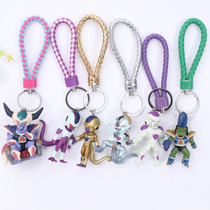 2020 New Ball Doll Key chains Son Goku Vegeta Trunks PVC Action Figure Anime Key Chain Accessories Model Toys Dolls