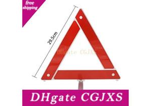 Triángulo de emergencia Señales de carretera para vehículos, aparcamiento plegable Herramientas de seguridad de emergencia, reflexivo trípode