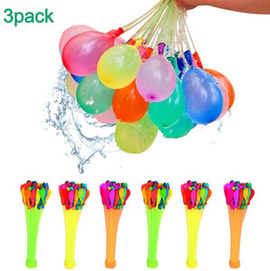 111pc- Pack Water Balloons with Refill Kits, Latex Water Bomb Balloons Fight Games - Summer Splash Fun for Kids & Adults