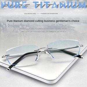 New glasses screw trimming men's frameless ruilis frame non-contact screwframeless glasses CwEJ6