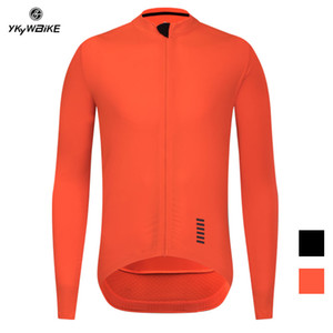 YKYWBIKE Ropa Ciclismo Pro Team Herren Radjacke Winter-thermisches Vlies Jersey Fahrrad Radfahren Warm MTB Bike Bekleidung Jacke