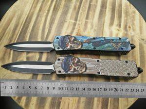 "AX927 CNC mini VG10 blade 60-62HR Benchmade BM3300 UTX85 UT121 trumpt 3 ""T6 aluminum handle camping automatic knife EDC tool"