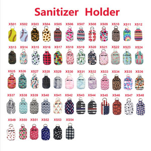 Neoprene Svuotare Hand Sanitizer Keychain del supporto, Adatto Bath and Body Works Pocketbac, Mini Hand Sanitizer Bulk Holder Hand Sanitizer (30ml)
