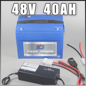 48V 40AH Electric Scooter Lithium ion Battery with ABS Case For 3000W Ebike