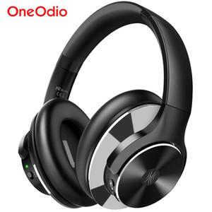 A10 Aktif Gürültü Önleyici Kulaklıklar 750mAh Bluetooth 5.0 Kablosuz Kulaklık ile Mikrofon USB C Oneodio Hızlı AAC Şarj