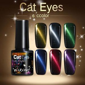 Polacco 5D Magia del gel UV del chiodo di DIY Chameleon Cat Eye Sticks Smalto per unghie forte effetto Arting Strumento
