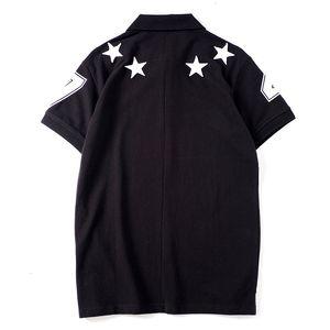 Famous Brand Mens Designer Polo Men Women High Quality Polo T-shirt Fashion Summer Mens Designer Tees Black LRJYE9P7