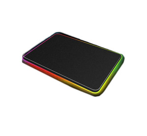 LED light Mouse pad 300*800*4mm computer thickening RGB game competitive keyboard desktop mouse pad 5 size dhl free