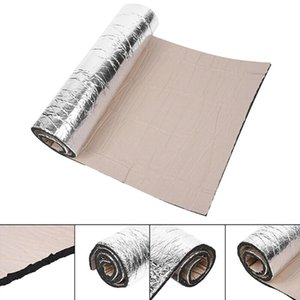 Car Auto Sound Proofing Deadening Vehicle Insulation Closed Cell Foam 100 * 40cm