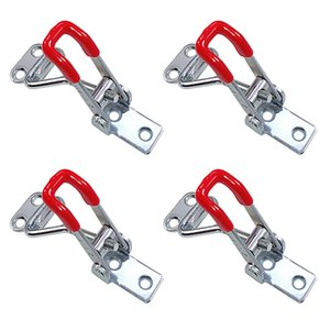 4pcs Adjustable Heavy Duty Catch Latches 100kg 220lbs Toggle Clamp Cabinet Boxes