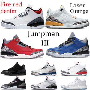 2020 красного огня джинсовой Jumpman OG Баскетбол обувь лазерной оранжевые прохладный серый Varsity Royal UNC Бег кроссовки Katrina уток Орегон PE Мужская обувь
