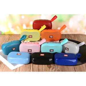 Telefonlar için YENİ TG173 BLUETOOTH HOPARLÖR Mini Taşınabilir Bluetooth Hoparlör Küçük Kablosuz Müzik Kolon Subwoofer USB Hoparlörler