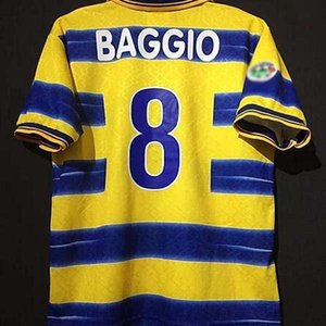 1998 1999 2000 Parma CRESPO Futebol Retro Jersey 2019 2020 camisa de futebol INGLESE Gervinho KARAMOH AMOROSO F.CANNAVARO THURAM antiga maillot