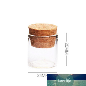 Mantarlar tıpalar 5ml Yüksek Kalite Züccaciye / Glas Jar Mini ile 5G Küçük Cam Şişeler