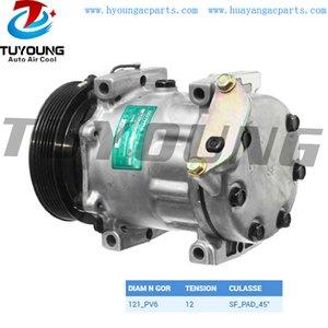 Alta calidad ac SD7H15 automático del compresor Renault Safrane 7700867841 7700112299