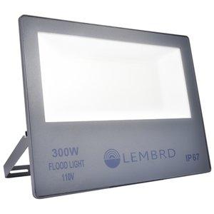 300W Yeni Ultra ince Taşkın Işık Sıcak Beyaz Açık Su geçirmez Bahçe Işık Sokak Lambası Güvenlik Acil Projektör