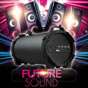 Haut-parleur extérieur sans fil Bluetooth portable Sport subwoofer haut-parleur stéréo Soundbar bureau TFcard lecteur Mp3 de caixa som