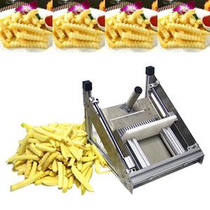 2020, arrugas de acero inoxidable onda placa en onda manual de la máquina de cortar de la máquina de corte de acero inoxidable máquina de corte de virutas de patata comercial
