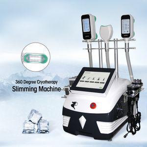 Cryolipolysis Makine zayıflama makinesi Çok fonksiyonlu Güzellik Ekipmanları Fabrika Makinesi Donma Dazzles Sağlık Profesyonel 360 Derece Şişman