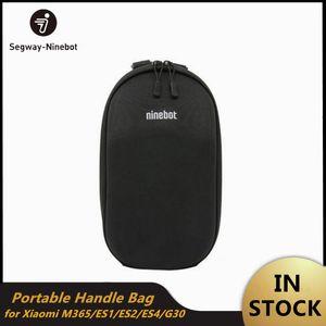 Ninebot 미니 샤오 미 Mijia M365 전기 킥 스쿠터 ES1 ES2 Qicycle 충전기 배터리 병 캐리 가방 휴대용 핸들 가방