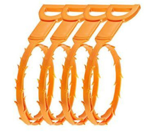52cm Snake Drain comadreja herramienta de arranque Kit para limpieza de drenaje herramientas de limpieza del hogar con paquete