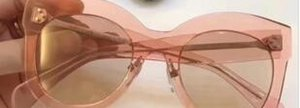 Hot sale High quality Xams Designer women CHRIS 41443 Black Gray Sunglasses 50mm fashion brand Sunglasses New with Case Box