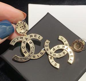 New galvanoplastie bouton lettre pendentif boucles d'oreilles de tous les jours tous les match boucles Seiko lettre