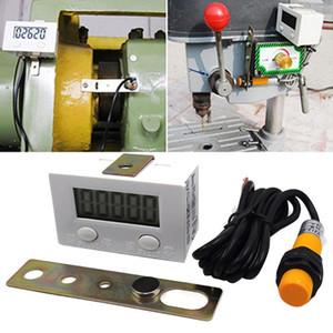 Estável Accurate industrial Magnetic Sensor LCD Boxing Switch Proximidade de 5 dígitos Prático perfurador Contador Durable indutivo