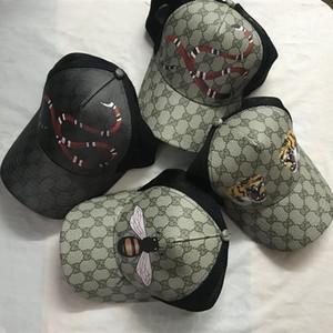 2020 GG Sıcak satış tenis kap güneş şapkası şapka beyzbol şapkası kadın yılan Arı adam şapka erkekler hip hop kaplan desenli kap marka spor
