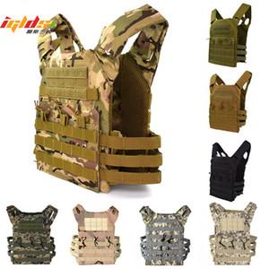 600D caça leve Tactical Vest Molle placa de suporte Revista Paintball CS Outdoor Vest Protective