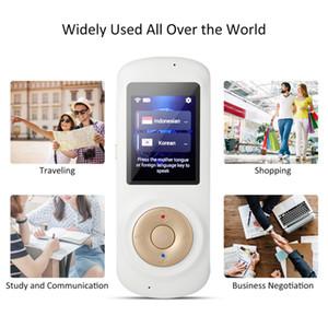 70 Langues TranslatorDevice Langues connexion Wi-Fi Hotspot Offline Two Way Voice Translator instantanée portable Language Translator