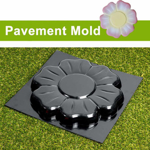 DIY Cement Paving Mold Floor Tile Pavement Mold Flower Mold Stepping Stone Garden Road Tool