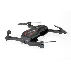 카메라 HD 셀카 드론 고도 홀드 RC 쿼드 콥터 RTF 헬리콥터 Dron 기계 T191105와 WL 기술 Q626-B 와이파이 FPV 720 RC 드론