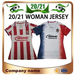 2020 Femme Pulido Club America Liga MX Chivas Jersey de football 20/21 O.Pineda A.PULIDO C.Fierro Fille Chemise Football Uniforme