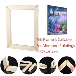 5D Diamond Painting Frame Photo Picture Frame Diy Cross Stitch Embroidery Wooden Poster Photo Cadre