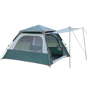 Camping Outdoor Quick-opening Tent Four-side Mesh Tent Thickened To Increase Quality Assurance Rainproof Camping Hiking