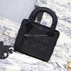 Designer Luxus-Handtaschen Geldbörsen Damen Schultertasche echtes Leder mit Hahnentrittmuster Stoff CrossBodybag Sattel Handtaschen-Qualitäts-Beutel atq