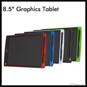 8.5 inç LCD Yazma Tablet Çizim Kurulu Grafik Blackboard El Yazısı Pedleri Hediye Çocuklar için Kağıtsız Not Defteri Tabletler Memo
