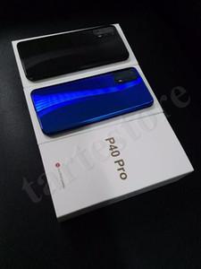 """Goophone P40 프로 6.58 """"안드로이드 10.0 쿼드 카메라 표시 8기가바이트 128기가바이트 표시 4G HD 카메라 3G WCDMA 휴대폰 무료 배"""