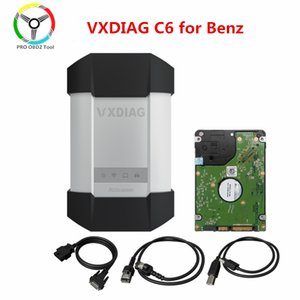 Original VXDIAG C6 OBD2 Diagnostic Tool for for car truck STAR C4 C5 Scanners With 500G HDD Wireless DOIP&AUDIO